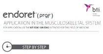 Endoret® (PRGF®) application in the musculoskeletal system