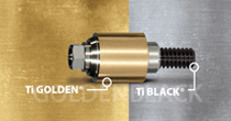 Prosthetic Components Ti Golden® & Ti Black®