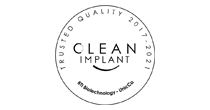 CleanImplant Trusted Quality Mark 2017 - 2021